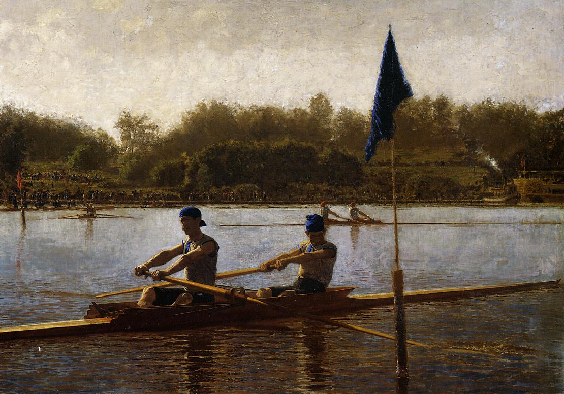 Famous Rowing Paintings