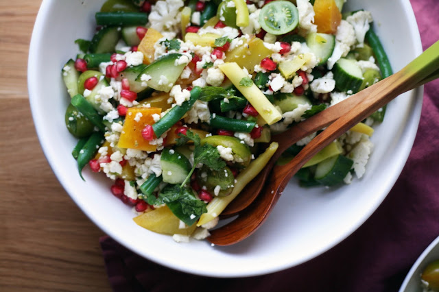 Autumn Market Salad with Dijon Dressing   Sevengrams