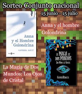 Sorteo: La magia de dos mundos + Anna y el Hombre Golondrina