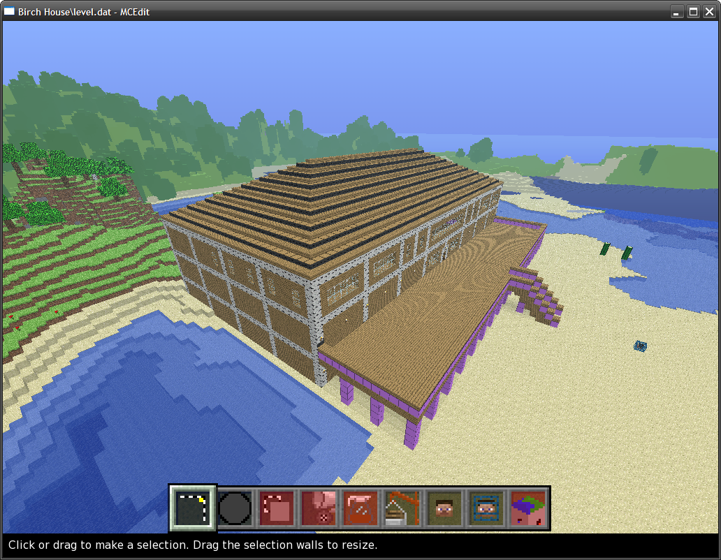 How to Build Minecraft Beach House