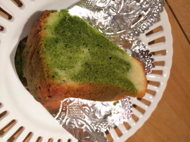 桑の葉入りケーキ!