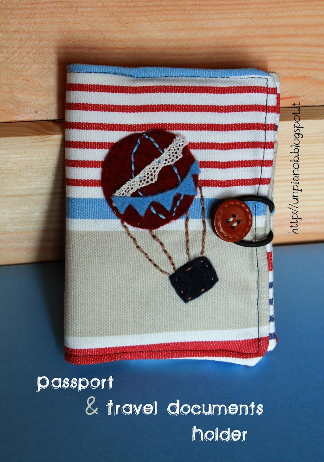 Un Piano B Porta Passaporto E Documenti Di Viaggio