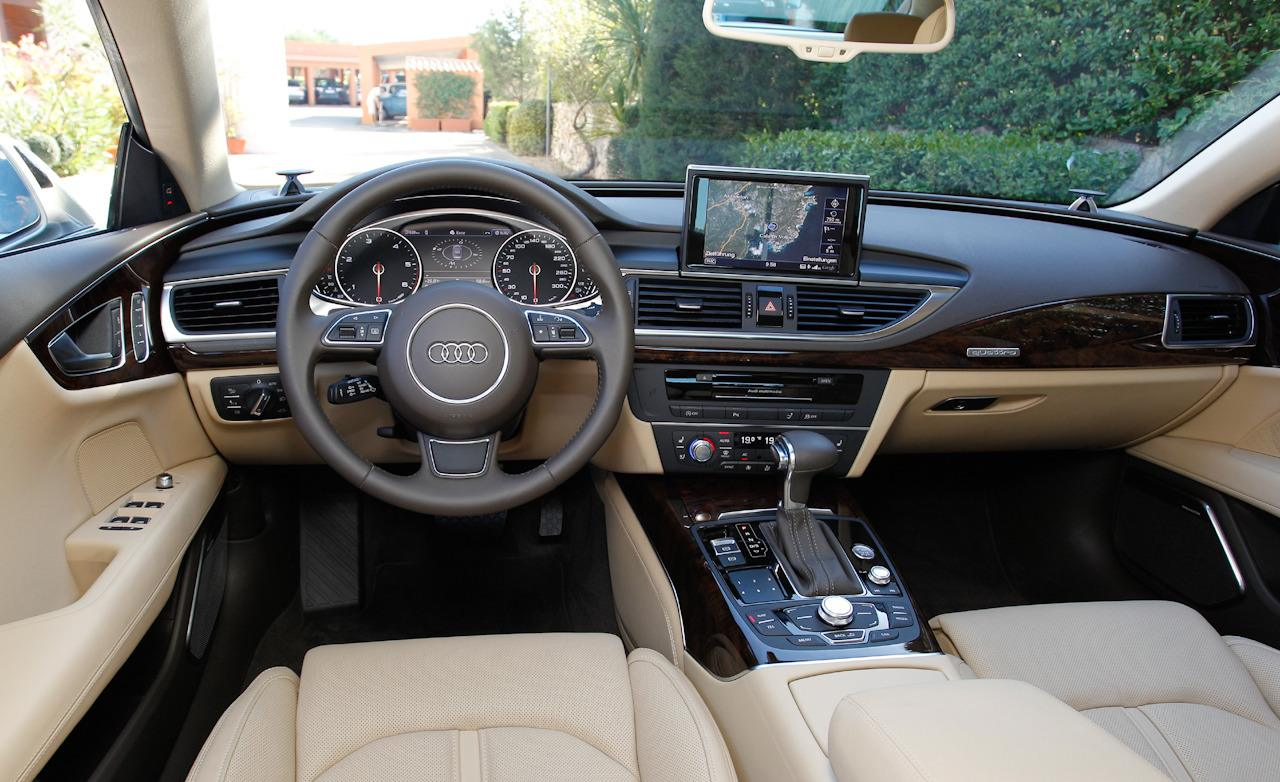 Cars Picture Info 2013 Audi A7 Interior Wallpaper