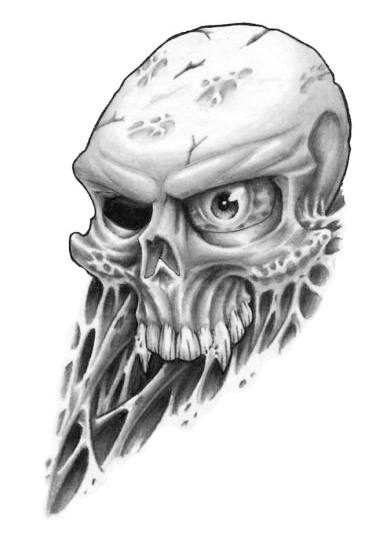 Skulls Tattoos Free Skull Tattoo   A Tattoodonkeycomjpg