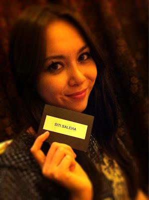 Pelakon cantik Siti Saleha