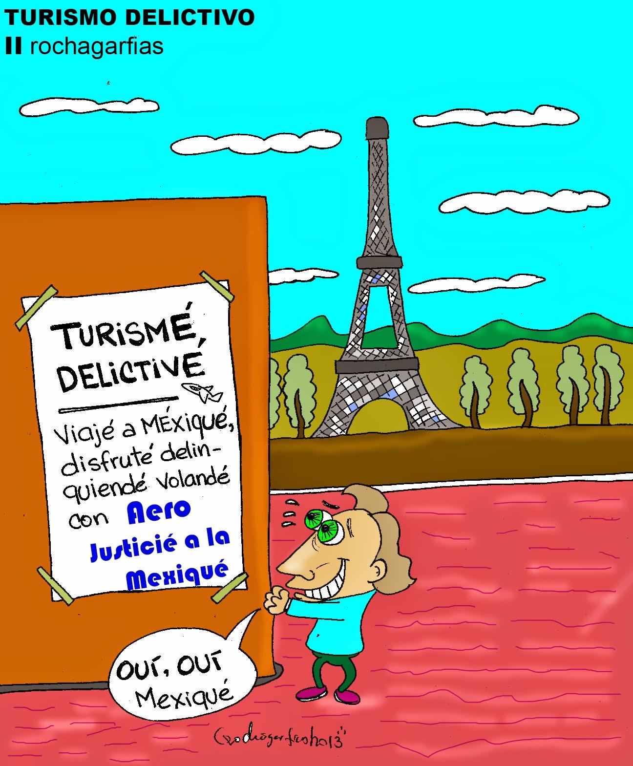 Turismo delictivo.