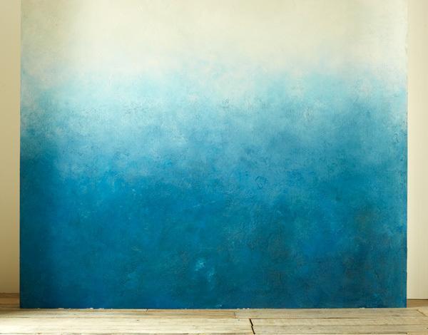 Marzua c mo pintar una pared en degrad sin llamar al pintor for Colores en paredes 2016