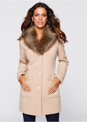 Palton Dama Scurt Elegant