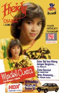 Heidy Diana-Model Cinta 1985