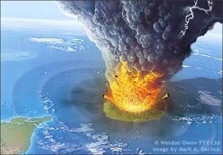Sejarah Awal Meletusnya Gunung Krakatau di Indonesia