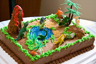 Dinosaur Birthday Cake Designs