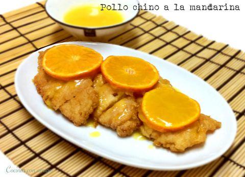Pollo Chino a la Mandarina
