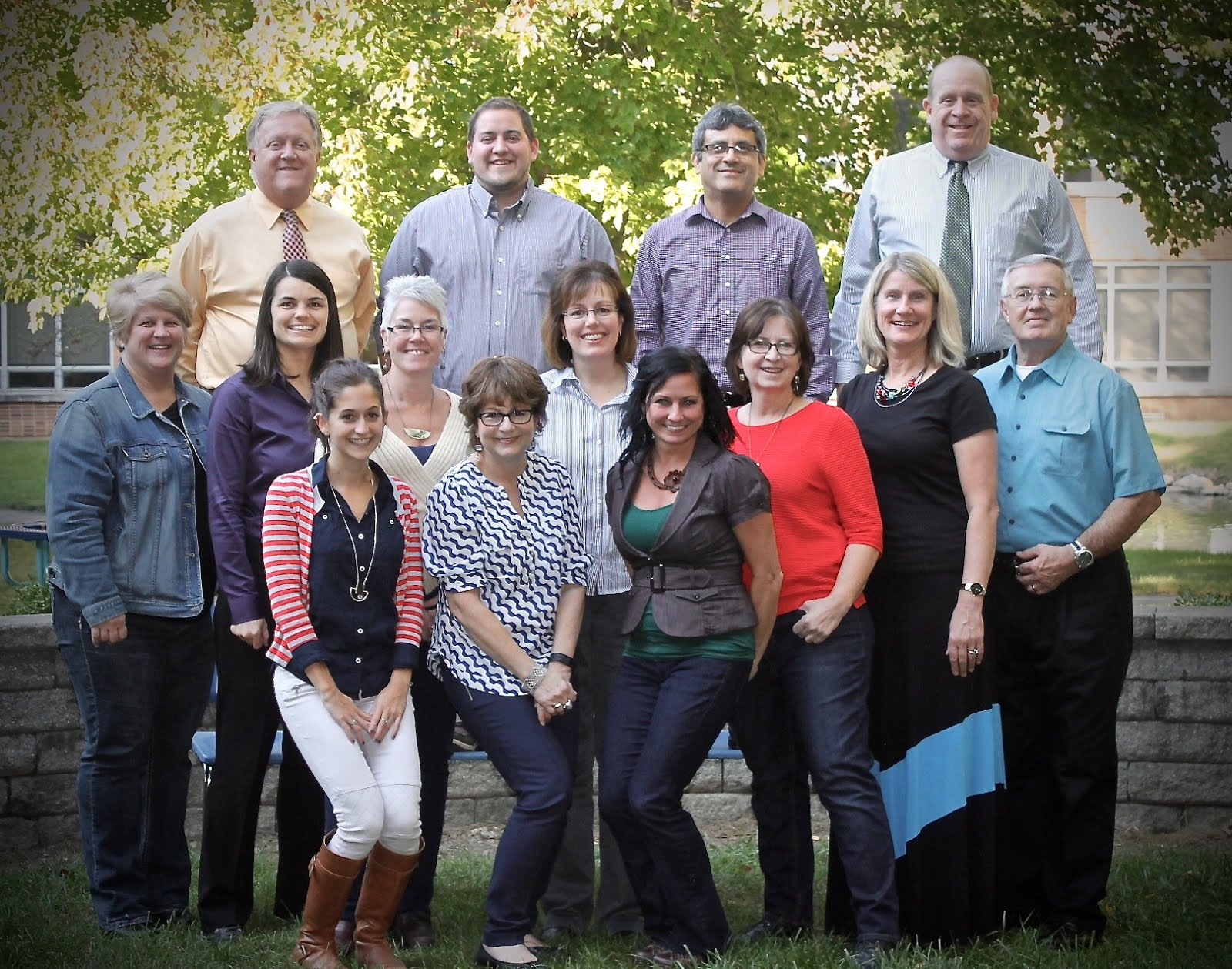 2016-2017 Fine Arts Faculty and Staff