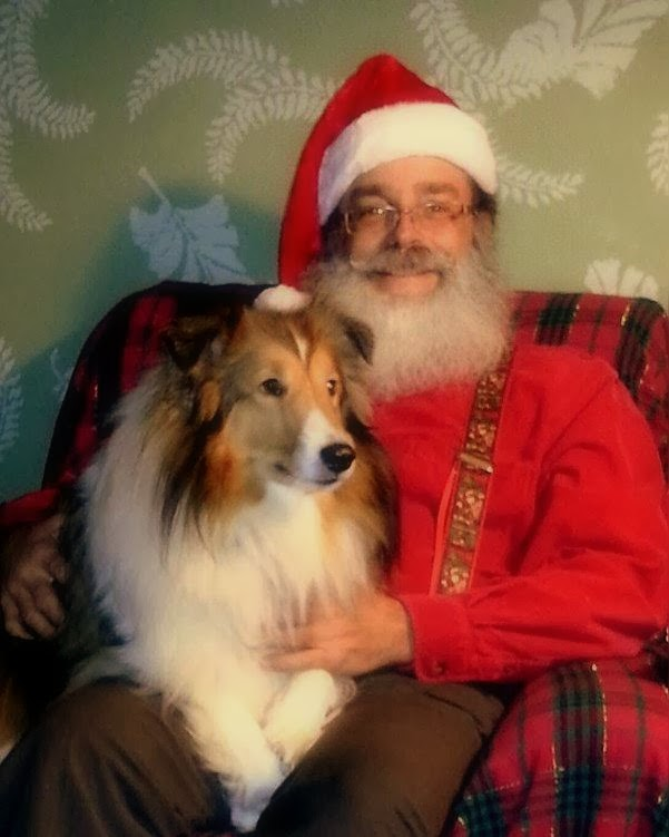 Santa Jim and Roo