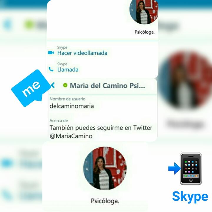 Atención por Skype