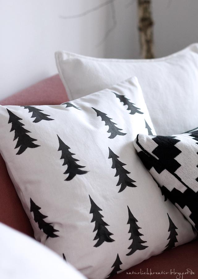 natuerlichkreativ x mas tree kissen. Black Bedroom Furniture Sets. Home Design Ideas