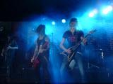 HammerFall, Bucuresti, Hard Rock Cafe, 30 noiembrie 2011 - Pontus, Fredrik, Oscar