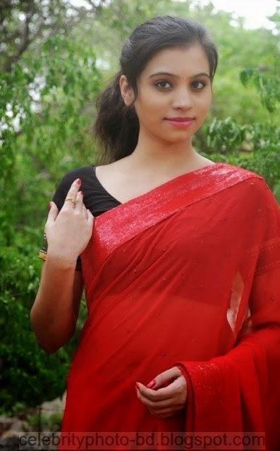 Actress%2BPriyanka%2BNair%2BRed%2BSaree%2BStills%2BSpicy%2BHot%2BPhotos001