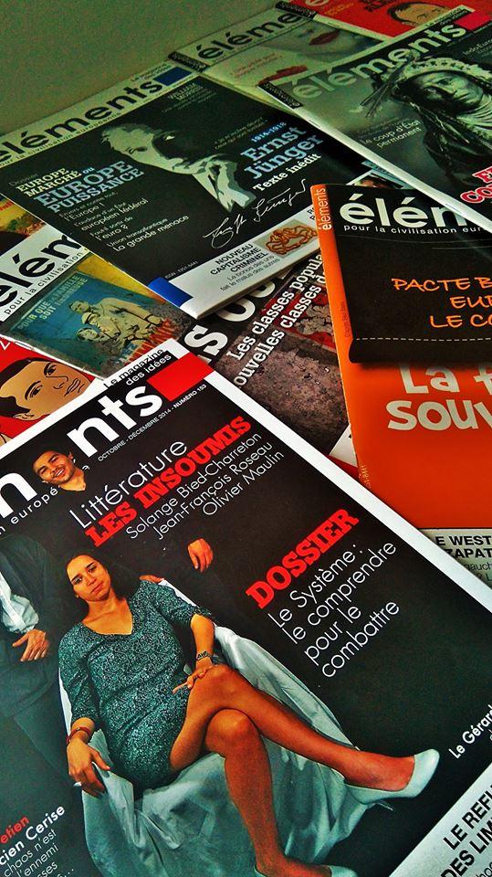 Revue Eléments : Complétez votre collection de numéros !