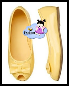 GYMBOREE YELLOW SHOE Size:12(18.5cm),13(19cm),2(21cm) PRICE: RM59