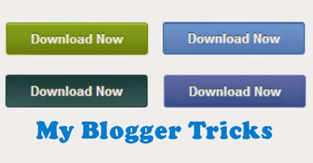 CSS3 Download Button for Blogger