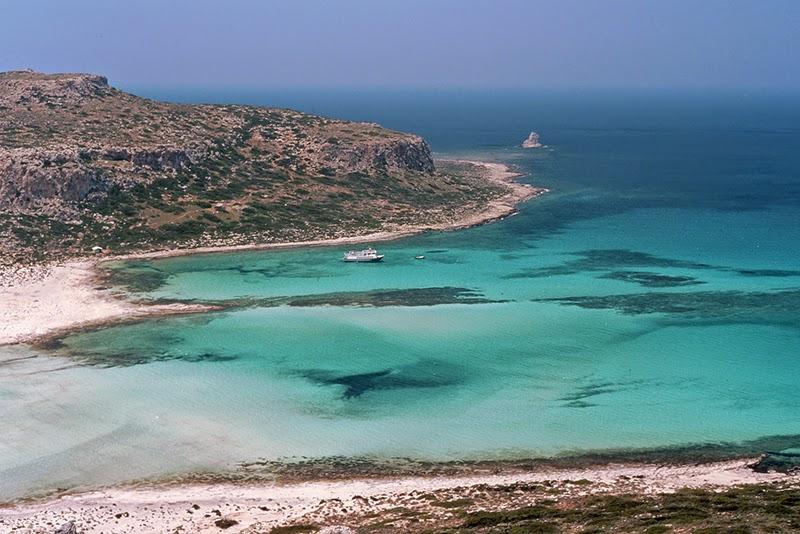 Plage de Tigani (Crète, Grèce)