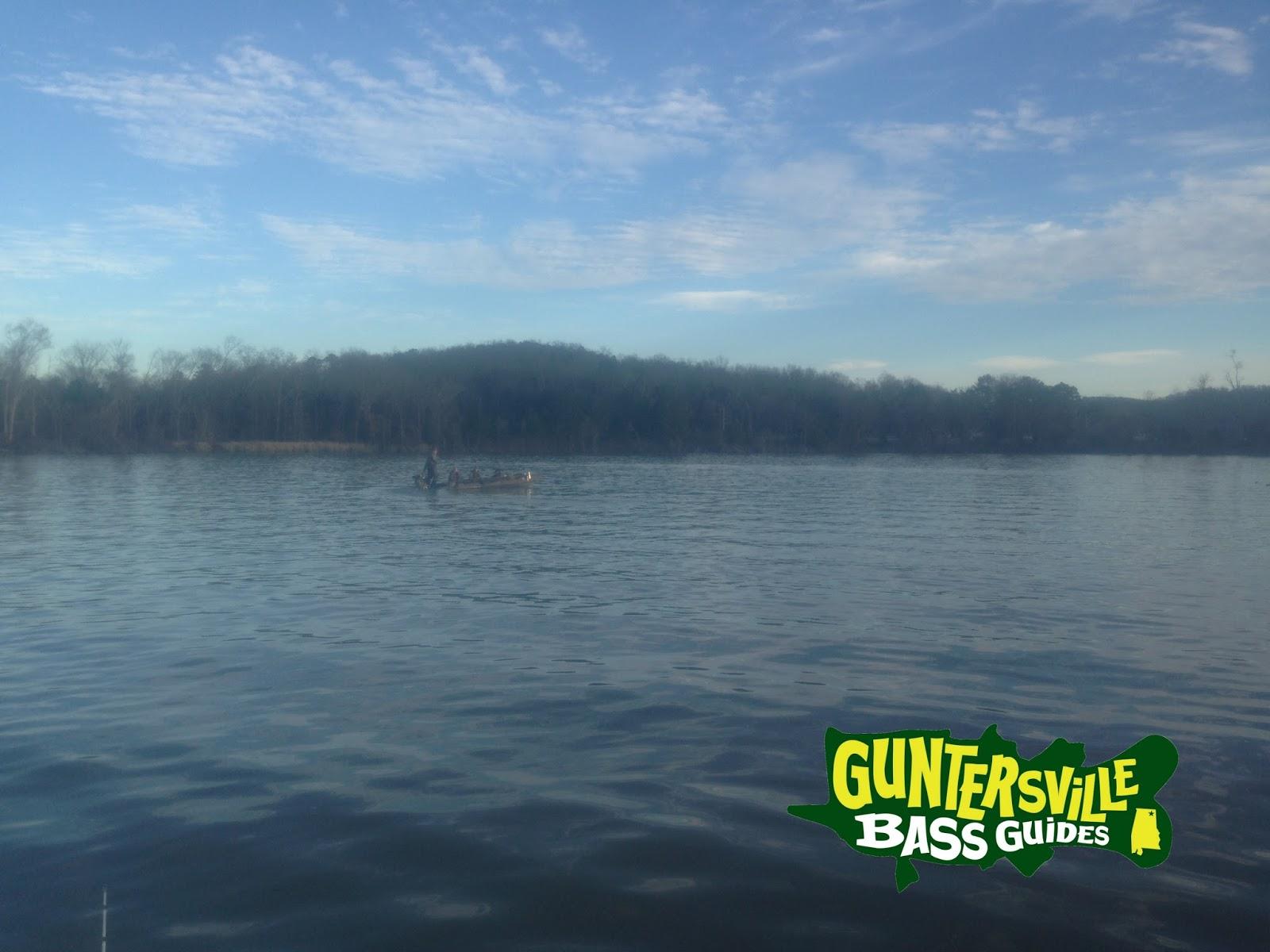 Lake guntersville fishing report guntersville bass guides for Lake guntersville fishing hot spots