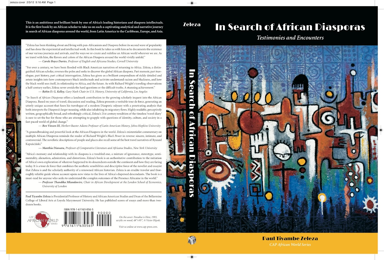"a study of the african diaspora in the new world Receive email notifications on new books african diaspora archaeology network with the creation of the modern world"" — assn for the study of the."