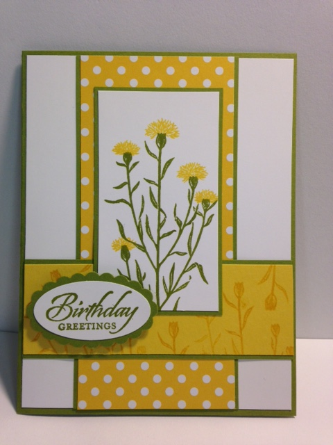 My Creative Corner A Wild About Flowers And Wetlands Birthday Card