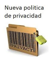 Nueva política de Privacidad