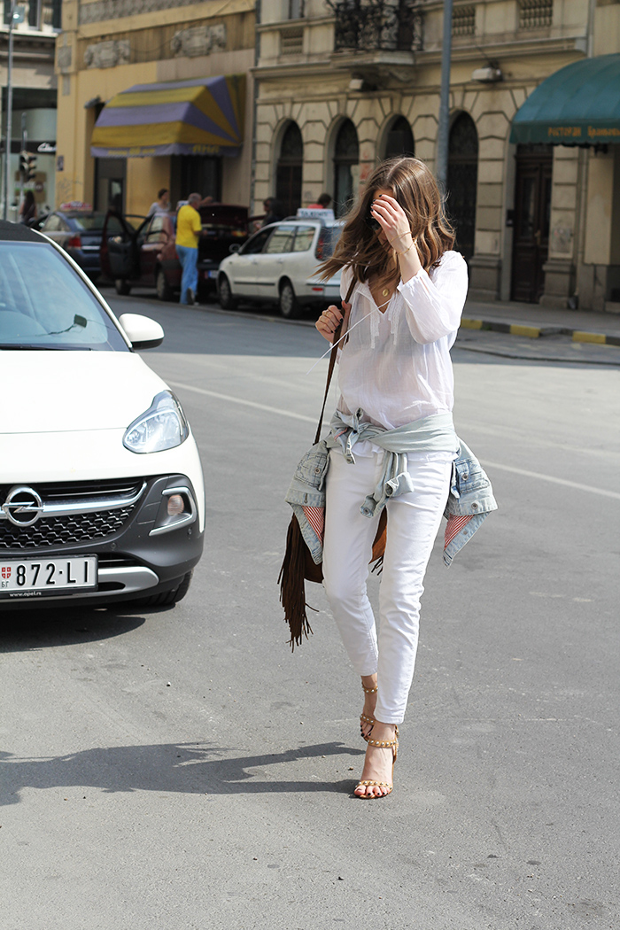 Fashion and style white on white Fashion and style vanja