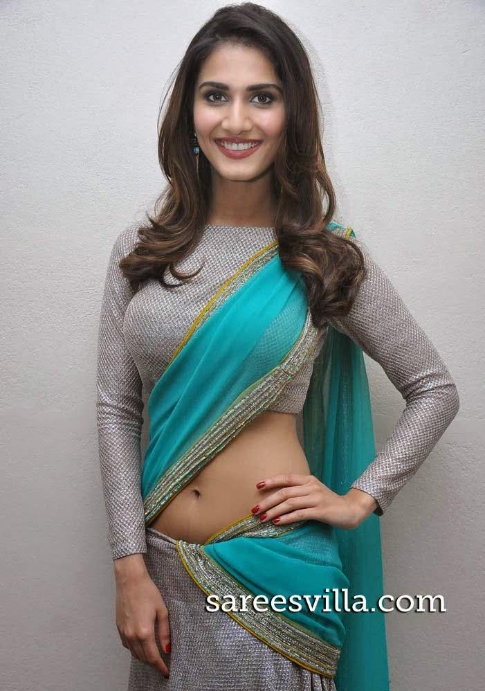 Vaani Kapoor In Designer Half Saree