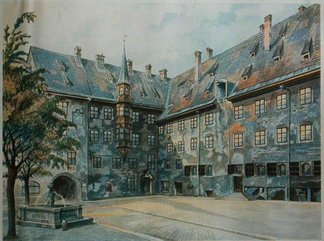 Courtyard of Old Residency