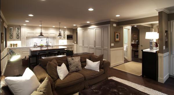 Sala De Tv Y Cocina ~  de la misma cocina con los colores de la sala dando un una mescla de