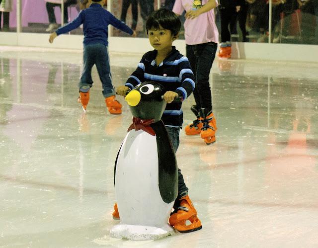 Ice Rink Mega Bangna Mall Bangkok