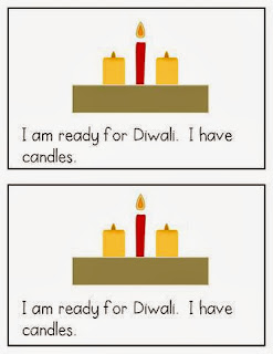 http://www.teacherspayteachers.com/Product/I-Am-Ready-for-Diwali-An-Emergent-Reader-with-Differentiated-Word-Work-1004330