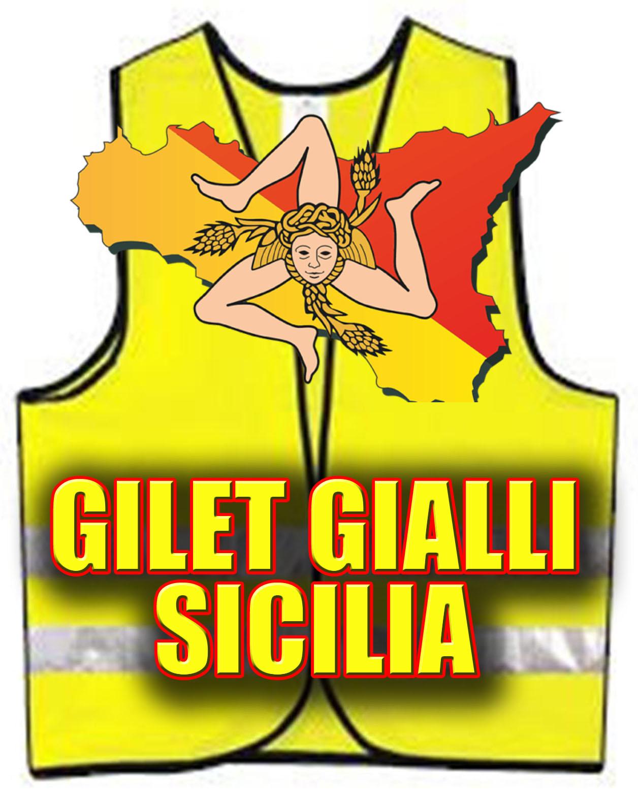 Gilet Gialli Sicilia