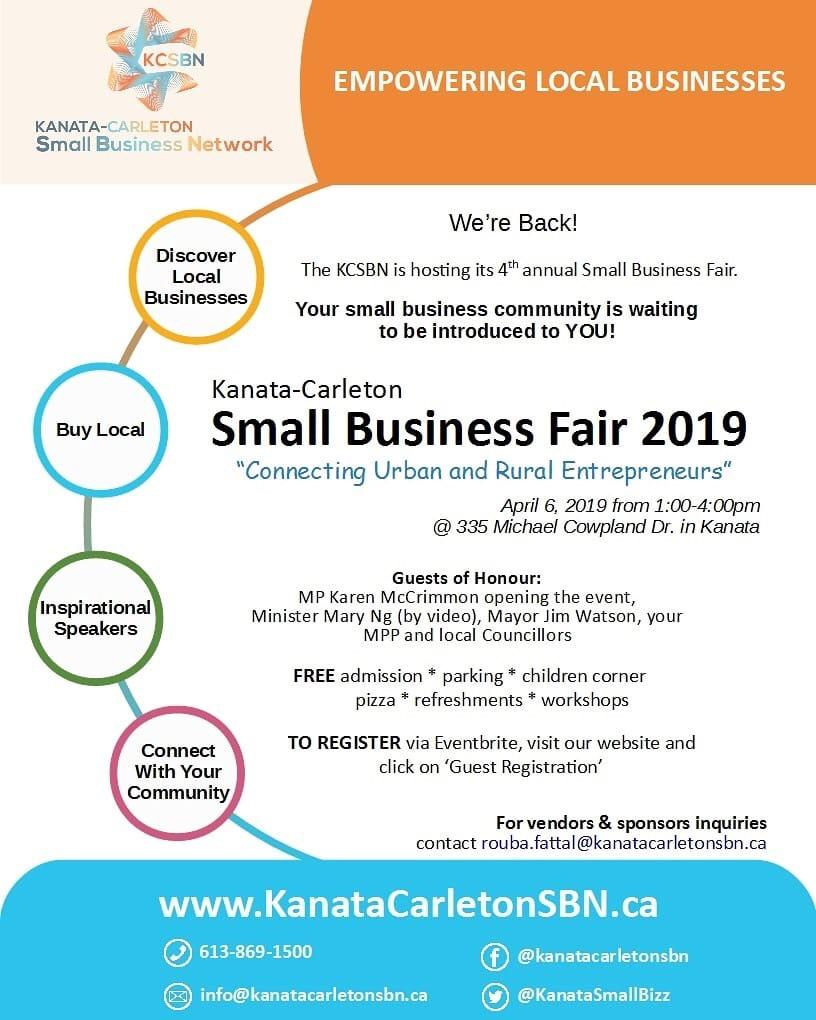 Upcoming Small Business Fair