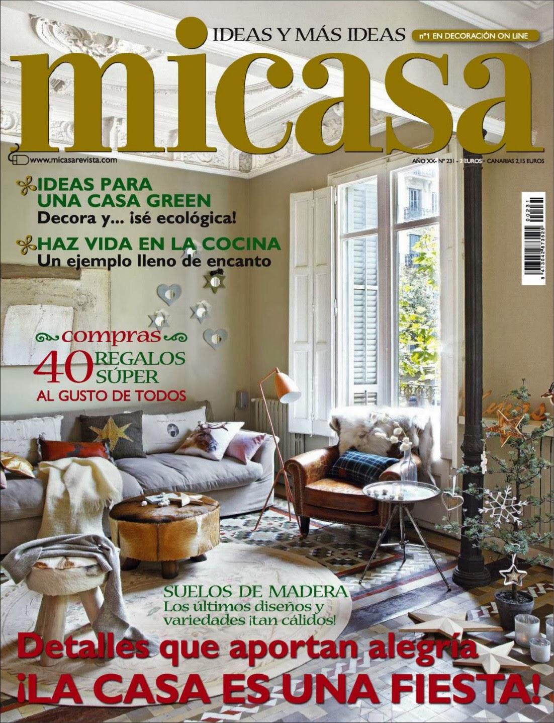 Revista Mi Casa Espa A Enero 2014 Pdf Hq Revistaz