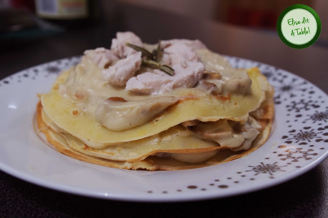 Crêpes fromage