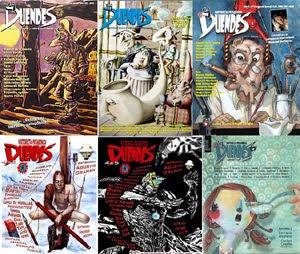 Ediciones de LA DUENDES en papel, títulos 1 a 6