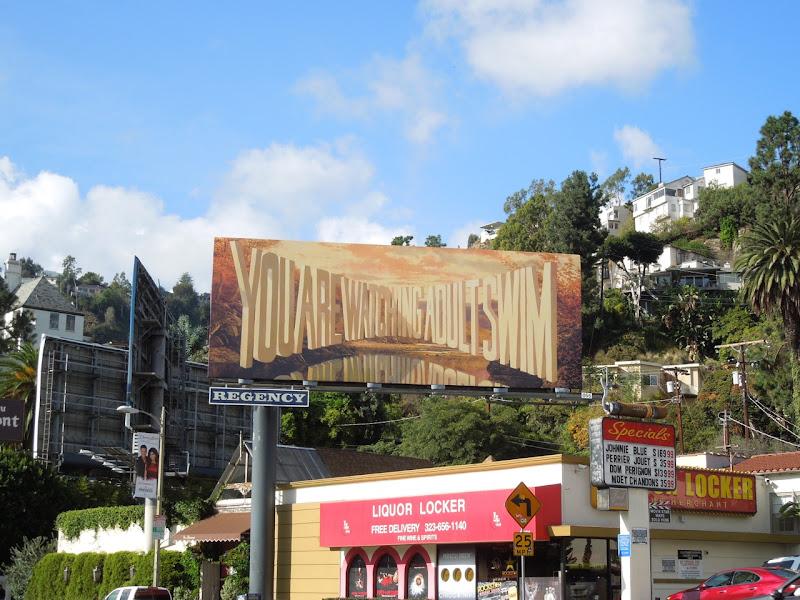 watching Adult Swim billboard