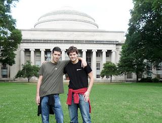 Ruben & Jesus (Plastic SCM) at MIT