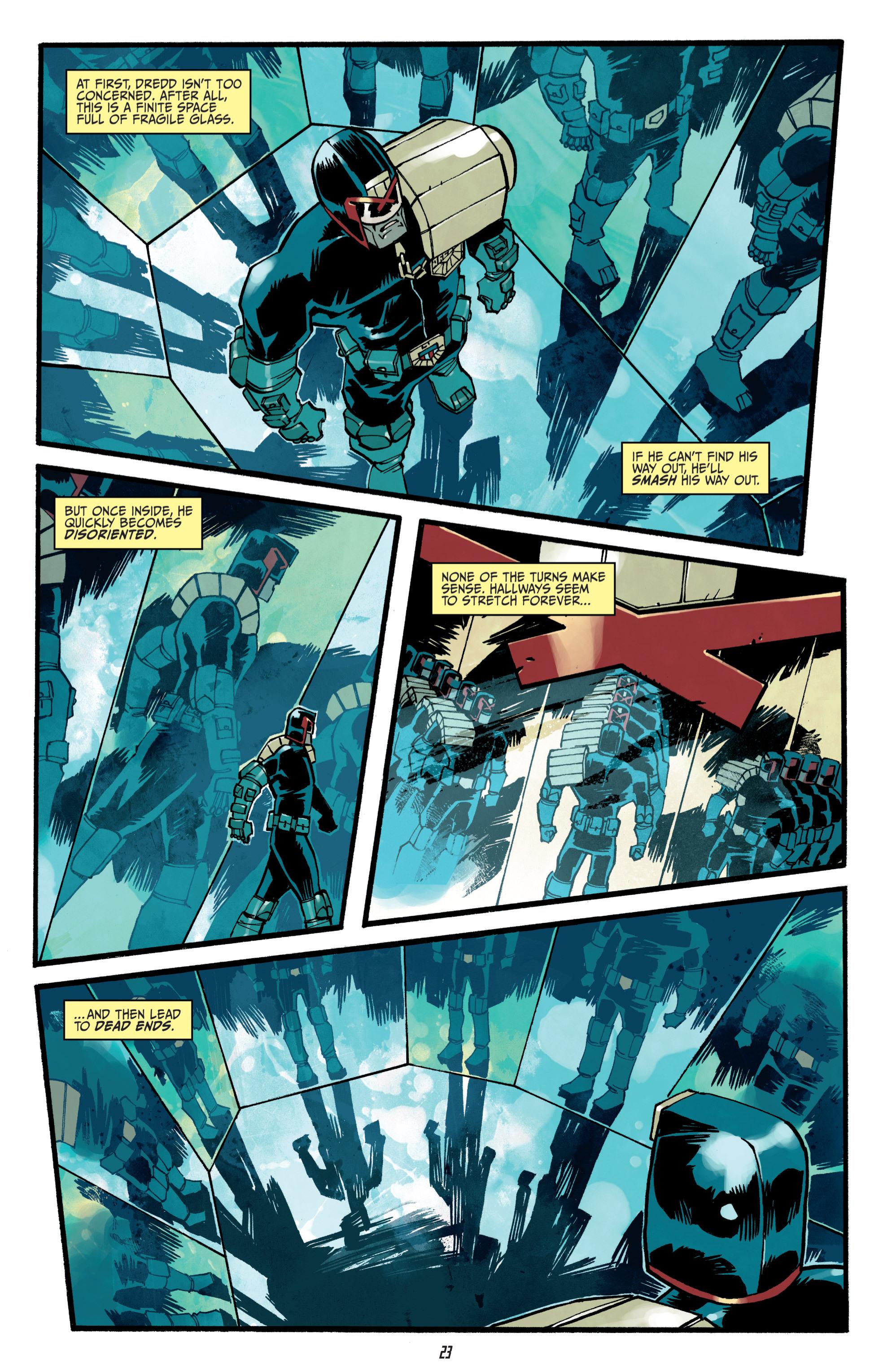 Read online Judge Dredd (2012) comic -  Issue # _TPB 3 - 23