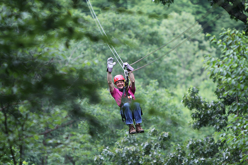Navitat Canopy Adventures A World Class Zip Line Tour Near Asheville Has Announced New Nighttime Tours As It Opens For The 2011 Season