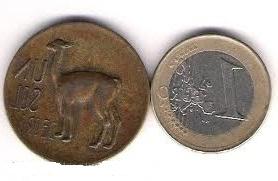 Equivalencia entre el euro y el sol