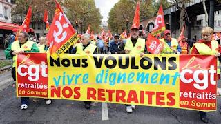 Réforme des retraites : une journée de grèves le 10 septembre