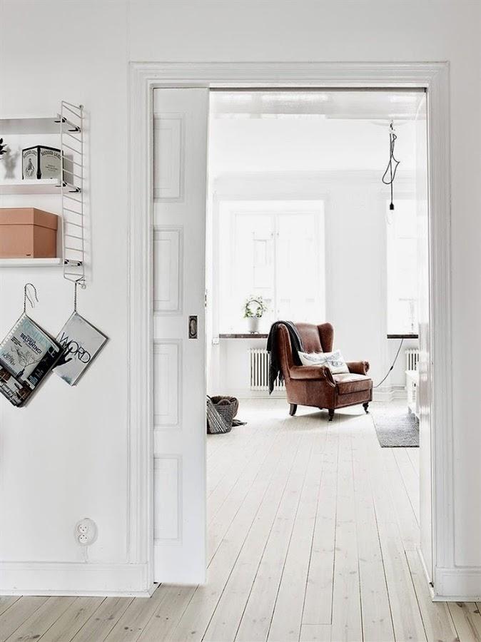 Apartamento nórdico con buenas ideas