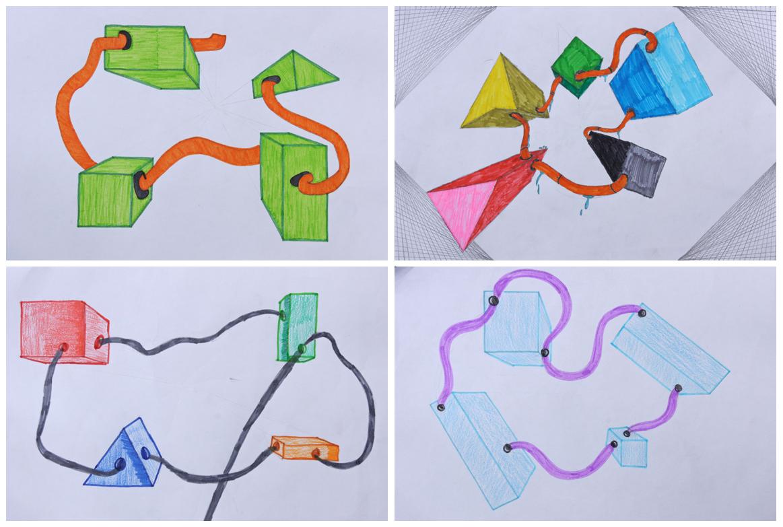 3d Shapes Clip Art at Clker.com - vector clip art online, royalty ...