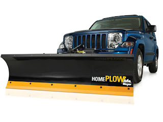 Jeep Liberty 4x4 with Home Plow Hero Pose